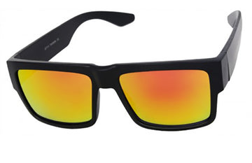 Dark Reflective Yellow Lens locs Sunglasses