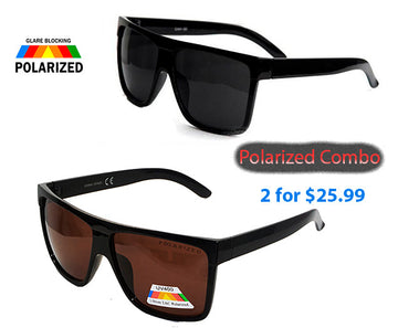 Large Frame Locs Polarized Sunglasses
