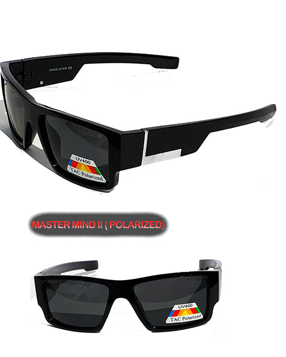 Men's Locs Polarized Lens Sunglasses ( Mastermind III )