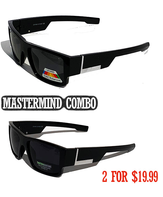 Authentic Gangster Locs  Sunglasses combo ( 2 Pairs)
