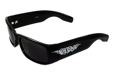 Classic Mad Dog Locs  Dark Sunglasses