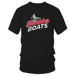 Mens Boulder Boats T-Shirt Black