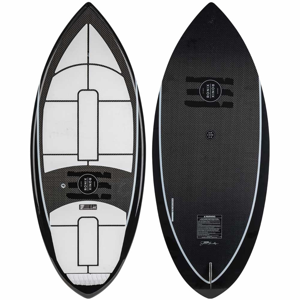 2020 Ronix Carbon Air Core 3- The Skimmer BLK/WHT WakeSurf
