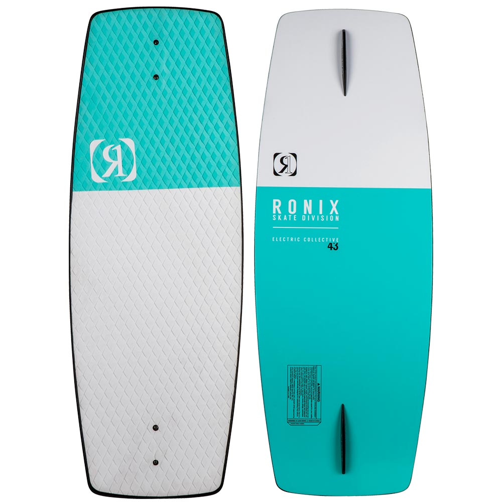 2020 Ronix Electric Collective Wakeskate Man Mint/White 44""