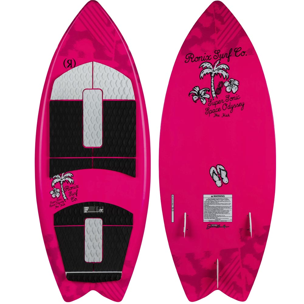 "2020 Ronix Girl's Super Sonic Space Odyssey Fish 3'9"" WakeSurf"