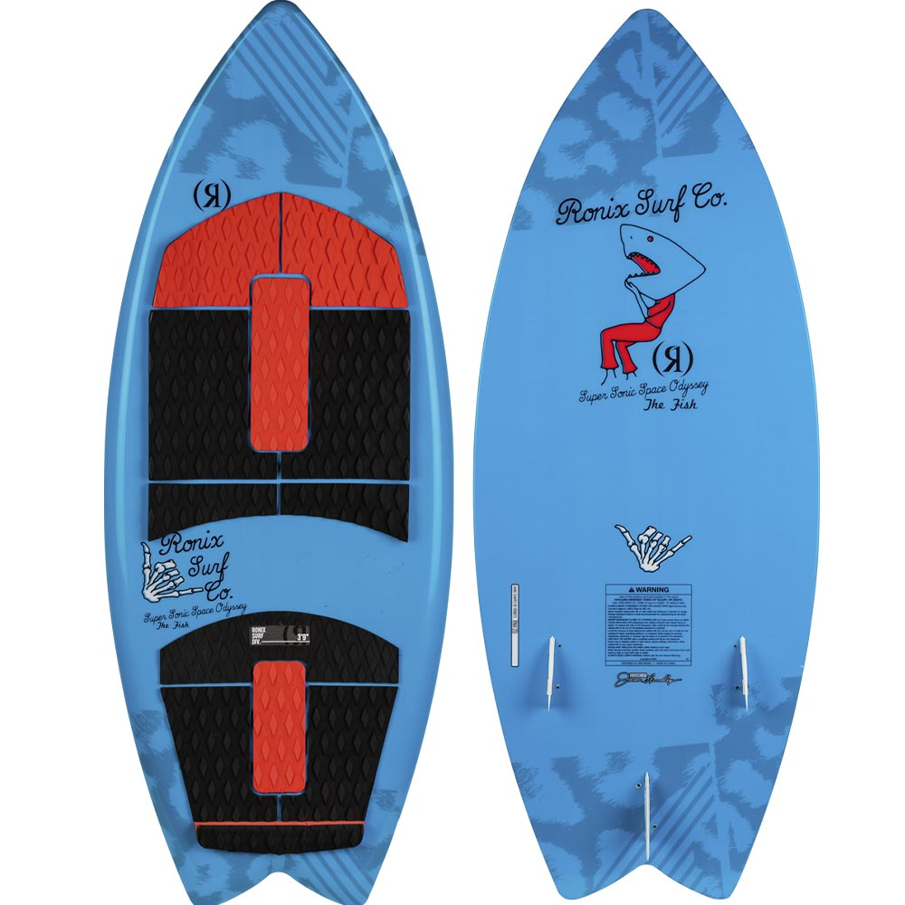 "2020 Ronix Kid's Super Sonic Space Odyssey Fish 3'9"" WakeSurf"
