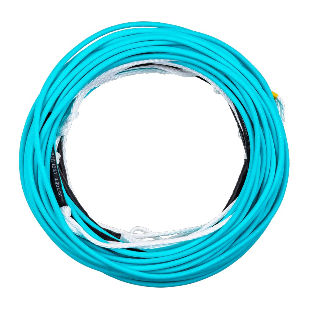 2020 Ronix R8 80ft - 8 Section Floating Mainline Cyan Blue
