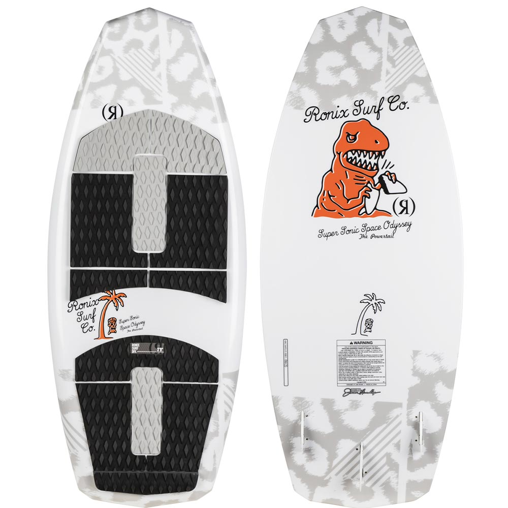 "2020 Ronix Kid's Super Sonic Space Odyssey Powertail 3'9"" WakeSurf"