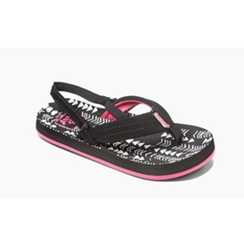 Reef Little Ahi Black/Tribal