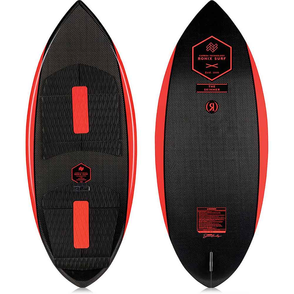 "2019 Ronix Carbon Air Core 3 - The Skimmer - Carbon / Caffeinated - 4'9"" WakeSurf"