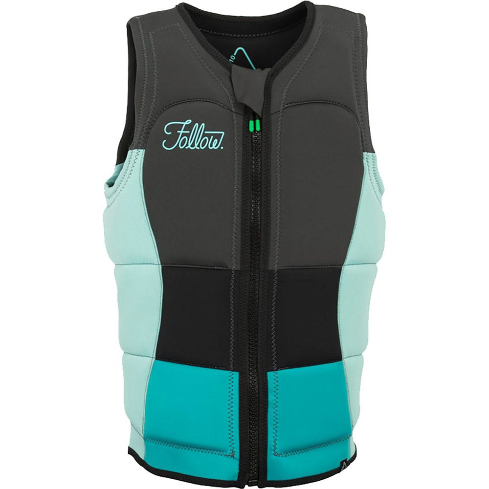 2018 Follow Wake Atlantis Ladies Comp Vest - Ocean Blue
