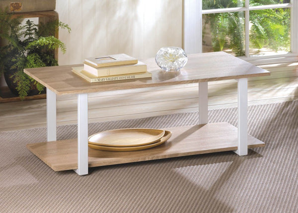 Contemporary Cottage Coffee Table 9 Cents Home Accents