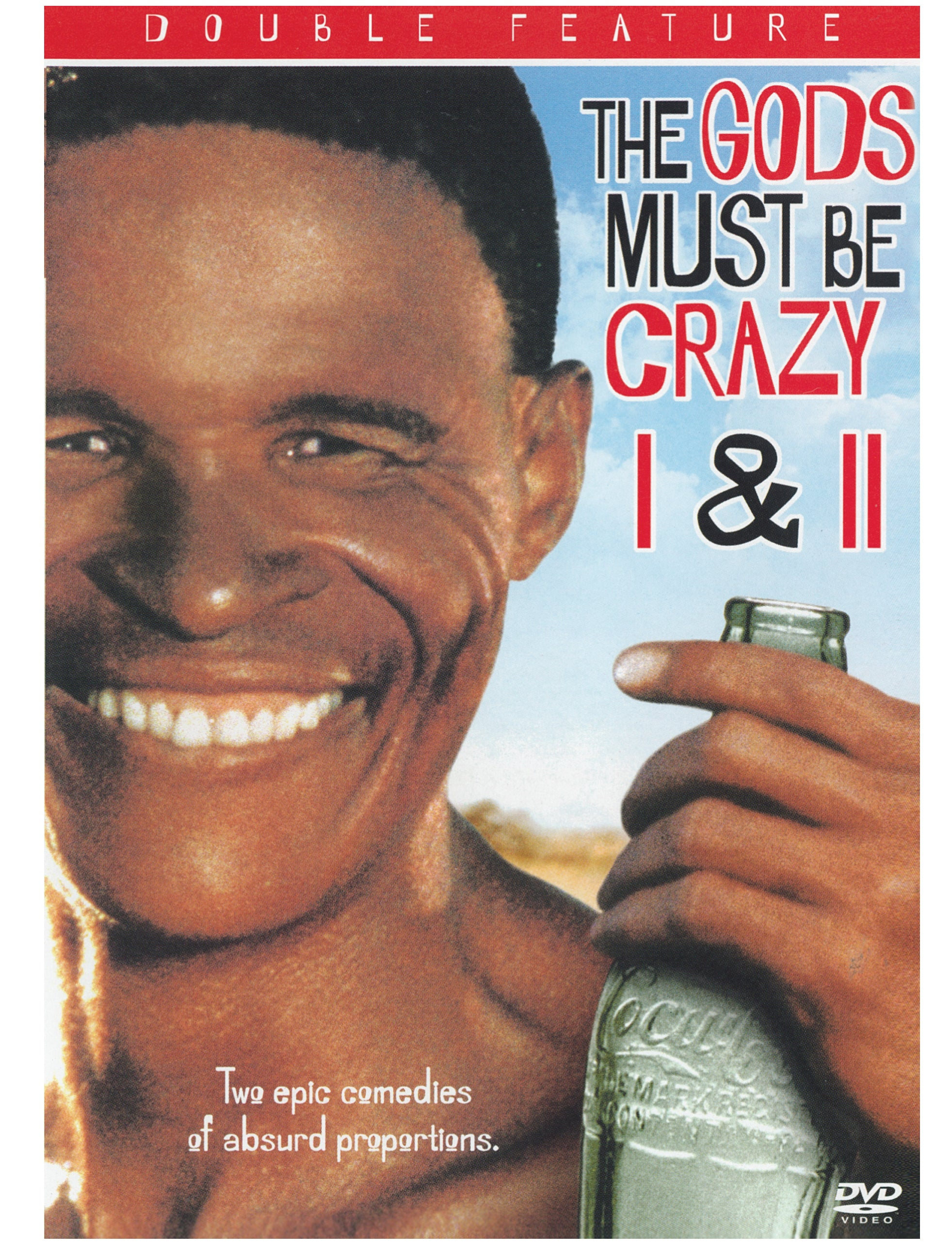 084a76b9935a The Gods Must Be Crazy Part. 1 and 2-DVD-2004-2-Disc-Set