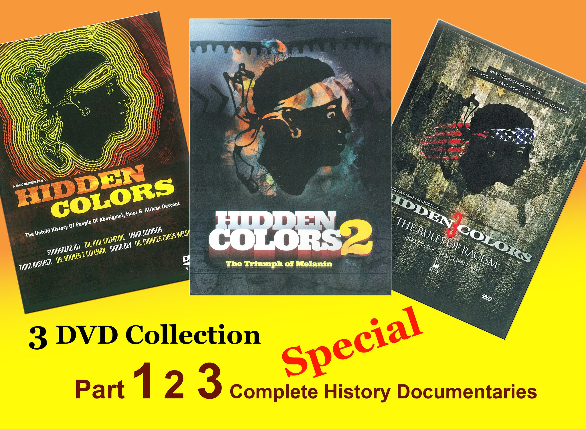 HIDDEN COLORS 1 2 3 DOCUMENTARIES COLLECTION
