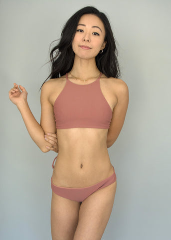 Dusty Rose + Naked Paradise MARLEY BRALETTE
