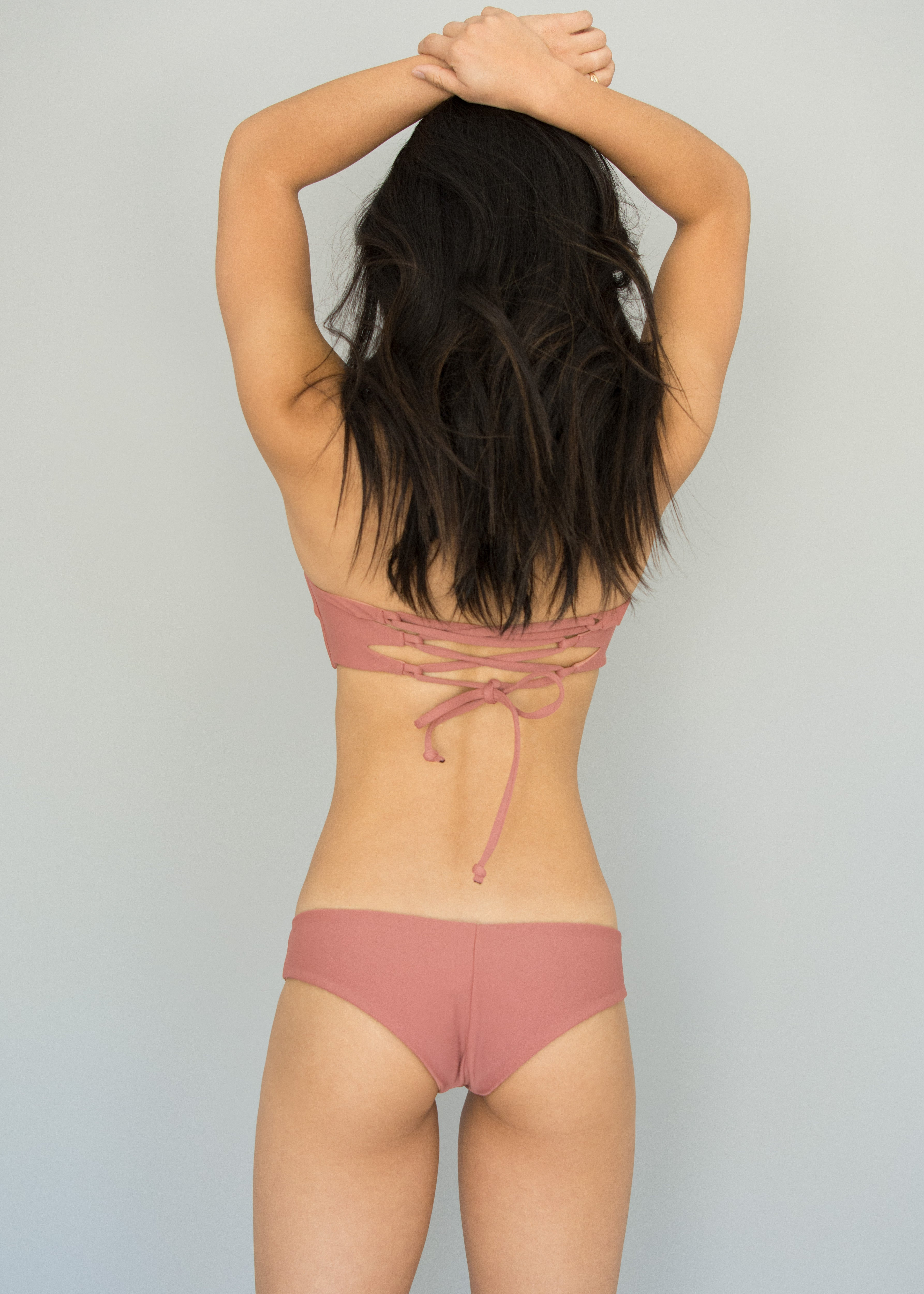 Dusty Rose + Naked Paradise BELLA BANDEAU