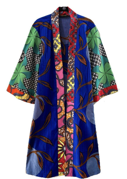 African Print Fatima Duster - Jolly Rancher - suakoko betty