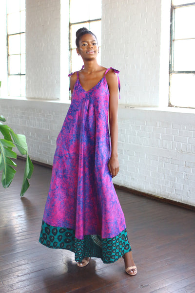 Kona Gown - Royal Pink