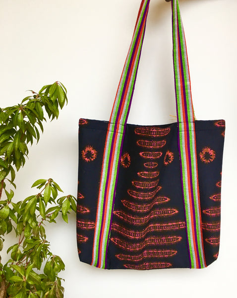 Amara Tote Bag - Black - suakoko betty