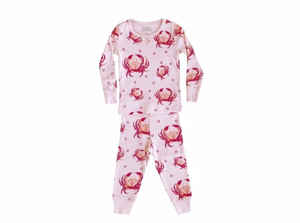 Pink Crab Pajamas