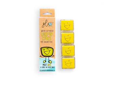 Glopals Light Up Cubes - Yellow