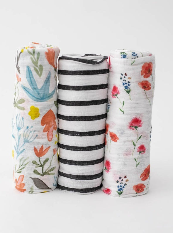 3-Pack Cotton Swaddle