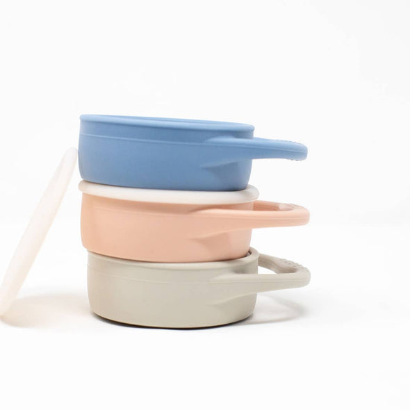 Dusty Rose Collapsible Snack Cup