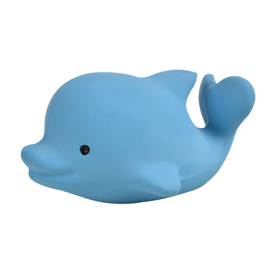 Natural Rubber Dolphin Rattle