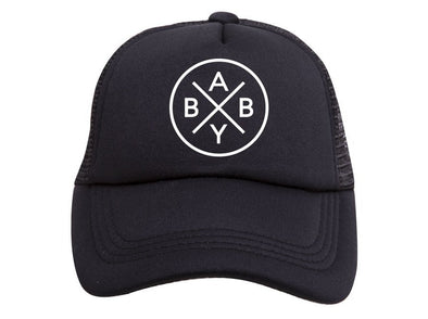 Black Baby X Trucker Hat