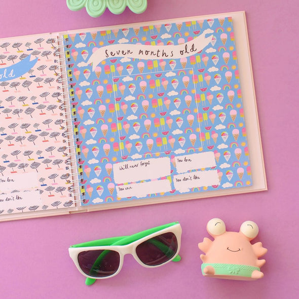 Little Beach Babe Memory Book