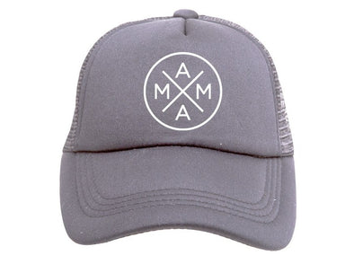 Gray Mama X Trucker Hat