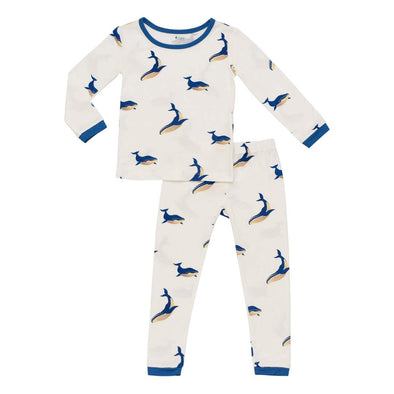 Whale Toddler Pajama Set