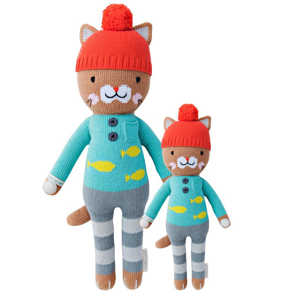 Maximus the Cat Knit Doll