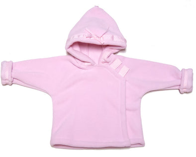 Light Pink Warmplus Fleece Coat
