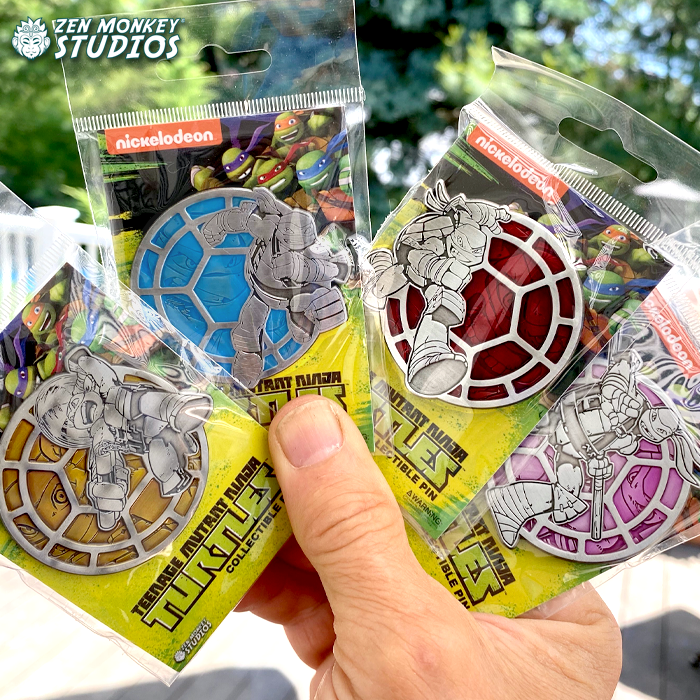Stay Heroic Portrait Series!:  TMNT Pin Combo