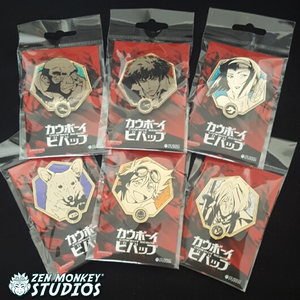Stay Jazzy Sale:  Golden Cowboy Bebop Pins