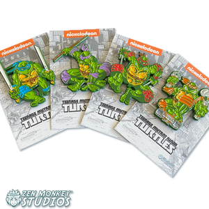 TMNT Classic Comic Pins Set