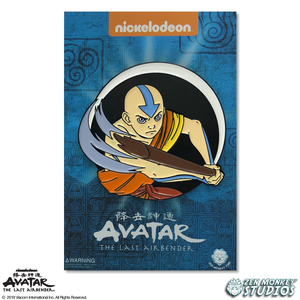 Aang - Avatar's Day Of Black Sun Pin