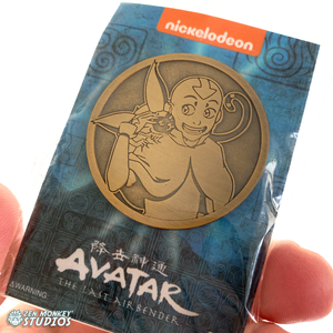Stay Safe Individual Pins: Limited Edition Aang And Momo