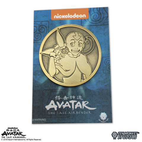 Aang And Momo - Limited Edition Pin