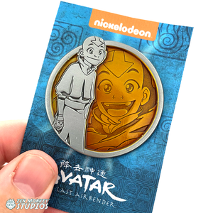 Aang - Portrait Series (Translucent Pin): Avatar The Last Airbender Pin