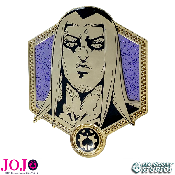 Golden Leone Abbacchio - JoJo's Bizarre Adventure Pin