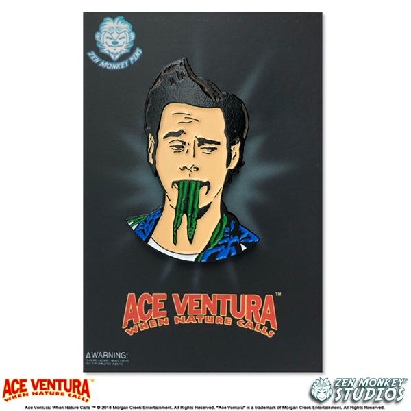 Is There Something In My Teeth? - Ace Ventura Pin