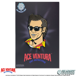 Ace In Shades - Ace Ventura Pin
