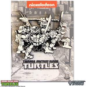 All Four Comic Brothers - TMNT Mega Pin