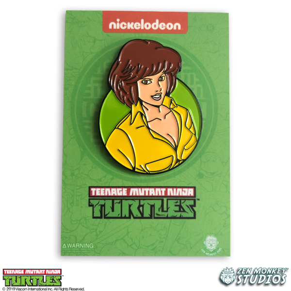 April O'Neil - TMNT Pin