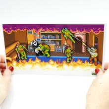 Load image into Gallery viewer, Arcade Boss Battle - TMNT Limited Edition Pin Set