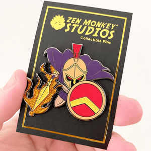 Greek God Ares: 1st Edition Collectible Enamel Pin