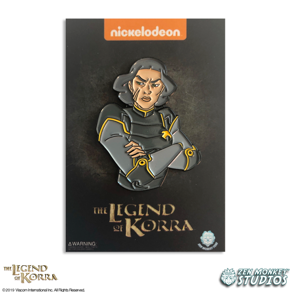 Arms Crossed Lin - The Legend of Korra Pin