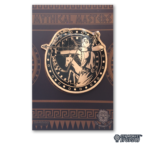 Artemis - Mythical Masters Collectible Pin